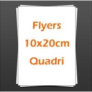 Flyers 10x20cm quadri