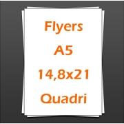 Flyers A5 14,8x21,0 quadri