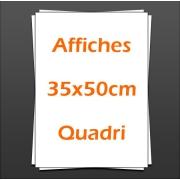 Affiches Posters 35x50cm quadri