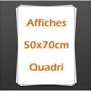 Affiches Posters 50x70cm quadri