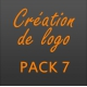 Création logo pack 7