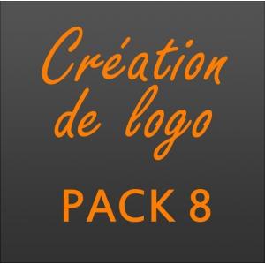 Création logo pack 8