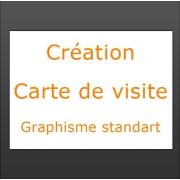 Création carte de visite graphisme standart