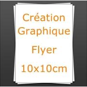Création Flyer 10x10cm