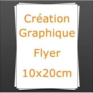 Création Flyer 10x20cm