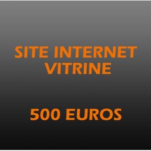 Création site internet vitrine pro