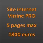 Création site internet vitrine pro avec design unique et sur mesure