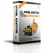 HTML Editor 4 Categories