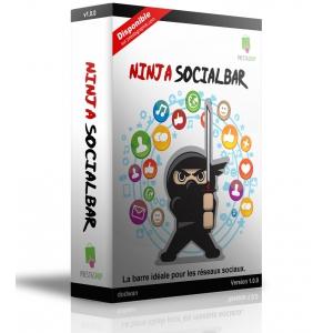 Ninja SocialBar